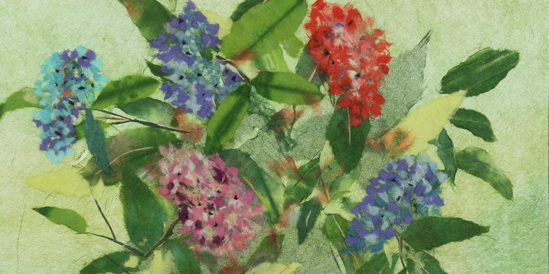 Japanese paper art Joan Mead-Matsui