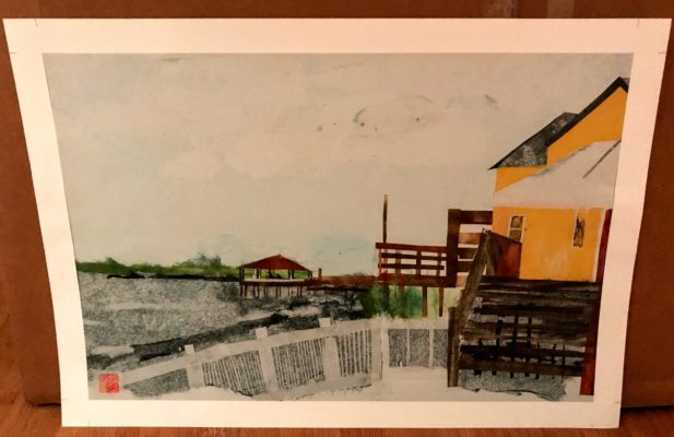 Outer Banks Chigirie Print